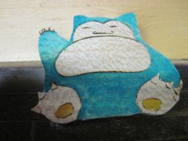 snorlax magnet by MagicalMegumi