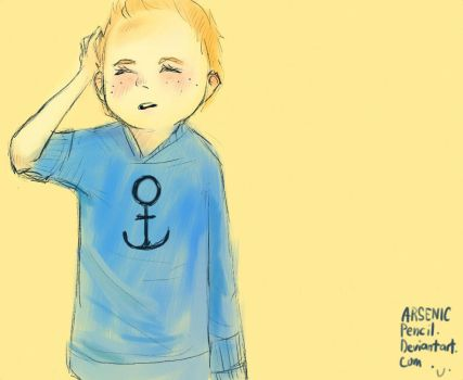 kid!Tintin by ArsenicPencil