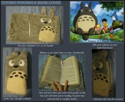 Totoro Book Cover by Talonzi