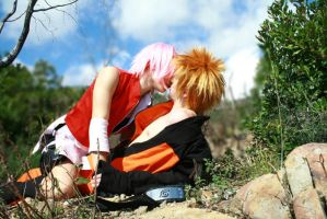 NaruSaku_we are alone by FairyScarlet
