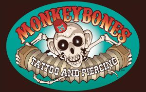 Monkeybones Tattoo Sign by JasonGoad