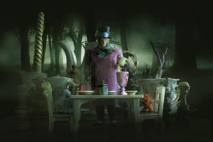 Tea Party with the mad Hatter by Grecia Villar by PrincessOfCrime
