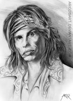 Steven Tyler of Aerosmith by ArcosArt