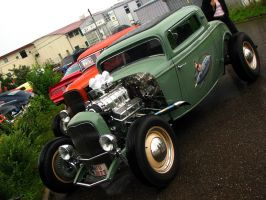 cool hot rod by AmericanMuscle