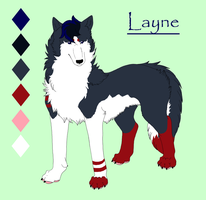 Layne by KamiraWolfDemon