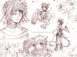 Sketchpage for Dami 1/2 by nerinrin
