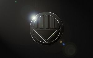 Black Lantern Logo Wallpaper by SUPERMAN3D