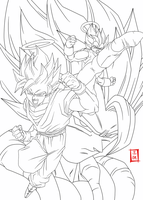 Fusion Lineart by SnaKou