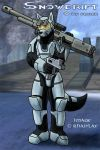 Snowdrift Halo-Style by SalenStormwing
