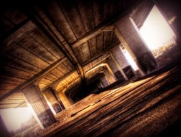 Under urban bridge STOCK by needanewname