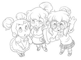 Chipettes for Musa by Pimmy