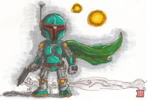 mc fett by thesometimers