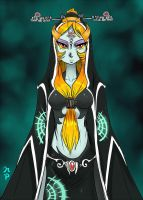 Midna True Form by ManiacPaint