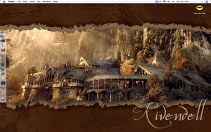 Rivendell Wallpaper by insanehusky