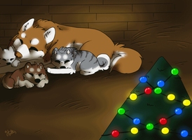 Christmas at home by Anttu-chan