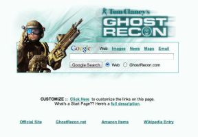 Ghost Recon Startpage by AwesomeStart