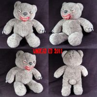 Marl The Killer Bear Plush by Undead-Art
