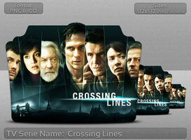 Crossing Lines - Tv Series Folder Icon by atty12