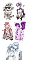 GaiaOnline: Sketch Compilation by whitefrosty