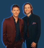 Jensen and Jared +2 by WeasleyEditions