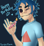 birthday boy by Tea-cup-kitty