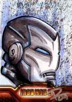 IM2 Sketch Cards: Sentai WM by FrankRapoza