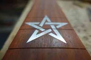 Grim Guitars Lilith inlay by JoseXC