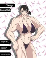 Manga Muscle Girl Cattleya by elee0228