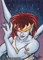 ACEO -  Demona 1 by KytheraOA