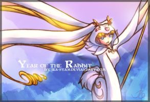 Year of the Rabbit closeup by ika-siyam