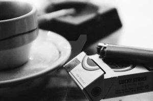 Cafe-cloppes coffe-cigarettes by jonojet