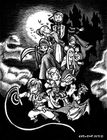 Castlevania: The Dracula X Chronicles by evs-eme