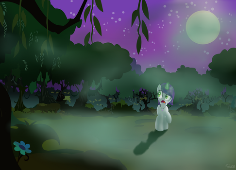 Nightmare of the Everfree Forest by StarwindNight