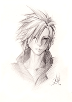 Cloud Strife by Princess--Ailish