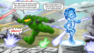 Tiny Toon - Don't Want A Halo! by Atariboy2600