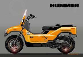 HUMMER  Scooter H2 by obiboi