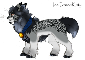 Ice DracoKitty PAYPAL ADOPT AUCTION GONE by KasaraWolf