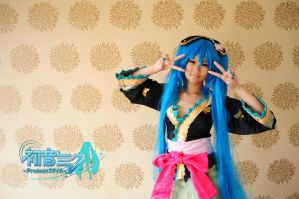Hatsune Miku Project.DIVA Magnet by cure-pain