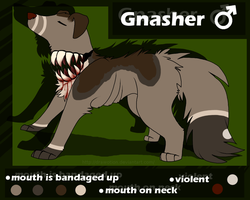 ~: Gnasher :~ by Drawotion