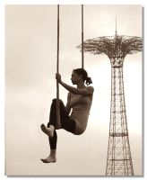 Coney Island Performer by magikfoto