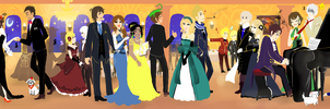 Night at the Ball by DinoTurtle