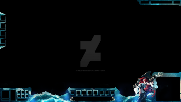 Miss Fortune League of Legends Overlay by Melificence