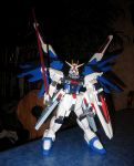 Freedom Gundam by K-i-r-a1985