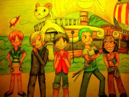 One Piece Group by bunnyrabb567