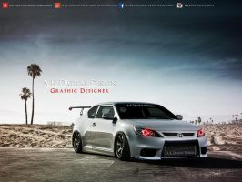 Scion tC 2012 Modified by akdigitaldesigns
