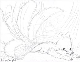 Too Many Tails by remanlongtail