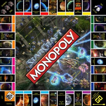 StarCraft Monopoly by LordDavid04