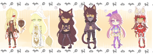 ::Adopts:: HALLOWEEN 2014 SET 02 CLOSED by K0USEKI