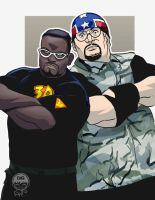 WWE Tag Team - Dudleys - Commission by EryckWebbGraphics
