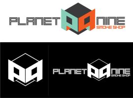 Planet Nine Smoke Shop - Logo Design by MightyPowerBluesW8